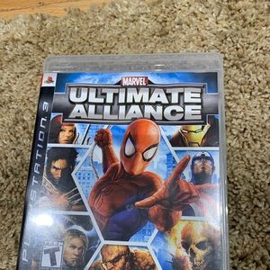 PS3 Game CD - Marvel Ultimate Alliance